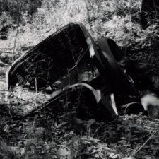 Model T graveyard at BAAP, 2001