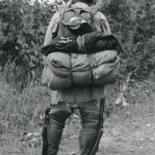 Carrying the votyageur's pack, Sining Times 1996