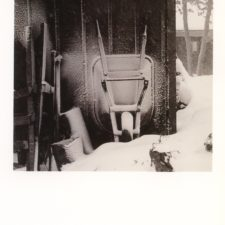 7.Wheelbarrow in winter